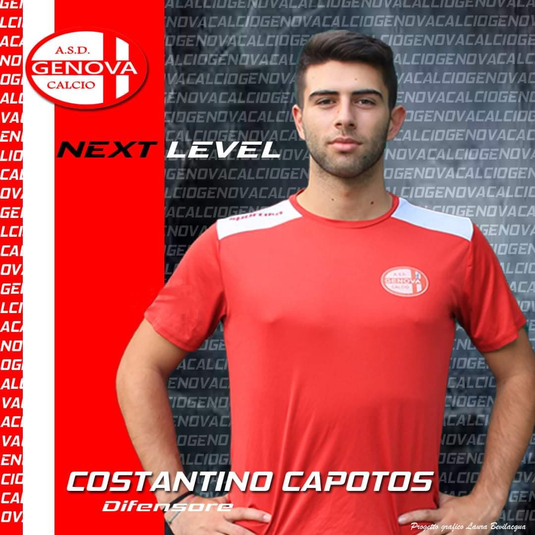 Costantino Capotos Confermato